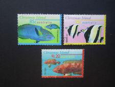 Fish Australian Christmas Island Stamps