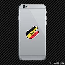 Belgian Shocker Cell Phone Sticker Mobile Belgium BEL BE