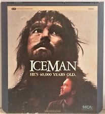 Iceman *** {47897400742}  Video Disc CED  /  A