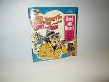 THE ELECTRIC COMPANY TV SHOW FARGO NORTH DECODER PETER PAN BOOK & RECORD 1988