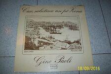 LP GINO PAOLI SALUTIME  UN PO' ZENA  / DURIUM MS AL 77367/1975 ITALY SIGILLATO/