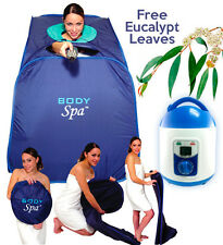 Personal Portable Therapeutic Steam Sauna SPA Weight Loss Reduce Stress 11083