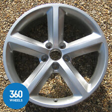 "1 x GENUINE AUDI A4 RS4 18"" 5 SPOKE ALLOY WHEEL AVANT SALOON 8E0601025AH B7"