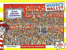"""Jigsaw Puzzles 1000 Pieces """"Where's Wally?"""" : Great Portrait Exhibition"""""""