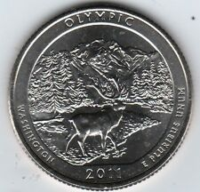 2011 Olympic National Park (P&D) 2 coins *IN HAND*