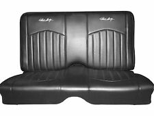 67-68 Mustang Convertible - Shelby Signature Leather Rear Seat Covers