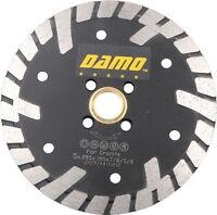 "5"" Premium Dry/Wet Cutting Turbo Rim Diamond Saw Blade for Granite/Concrete"