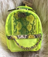 NWT Victorias Secret💕Neon🌟Python🐍 Small City Backpack