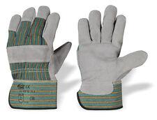 12 Paar Arbeitshandschuhe Handschuhe Rindspaltleder Strong Hand H/K Top Gr. 10,5