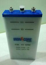 Nickel Iron Battery 12 volt 10 ah Deep Cycle,Life long rechargable battery