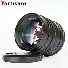 7artisans 55mm F1.4 Large Aperture Portrait Prime Lens for Sony E mount Black