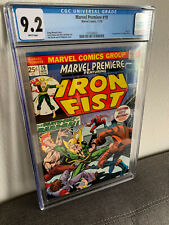 Marvel Premiere # 19 1st Appearance Colleen Wing Cgc 9.2