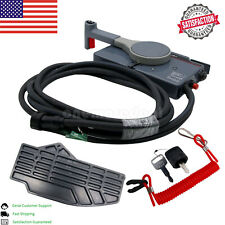 For Yamaha Boat Outboard Remote Box 10Pin Cable Right Hand PUSH Throttle US