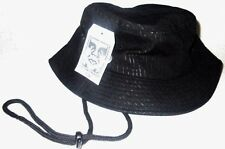 MENS OBEY BLACK BUCKET HAT ONE SIZE