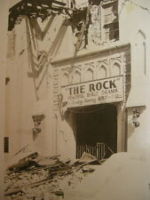 Long Beach, Los Angeles Co. CA. RPPC 1933 Earthquake. M.E. Church Destroyed. NoR