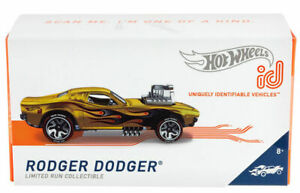 Hot Wheels id Rodger Dodger GML39 Limited Run Collectible Gold Series 2 Rod Squa