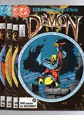 DC Demon Book 1-4 (1987) High Grade