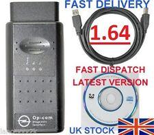 V1.64 INTERNET SAFE! Vauxhall Opel Diagnostic tool Tech2 OBD2 Diagnostic OPCOM