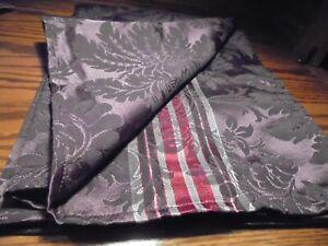 "NEW Martha Stewart PURPLE Christmas Twilight Tablecloth 52""x 70"" Rectangular  59"