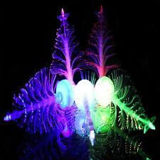 LED Fiber Optic Nightlight Color Changing Xmas Tree Lamp Light Children's Gift
