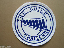 The Guide Challenge Walking Hiking Cloth Patch Badge