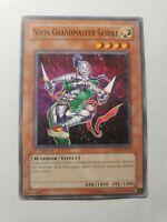YUGIOH NINJA GRANDMASTER SASUKE YSDJ-EN014 1ST EDITION COMMON NM