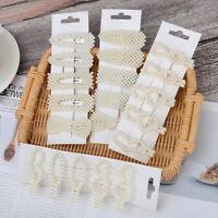 5Pcs/set Pearl Hair Clip Barrettes Hairpins Fashion Hair Accessories For Women