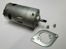 BMW Z4 E85 Cabrio Convertible Roof Pump Motor 2003 to 2009, with plate NO SPACER