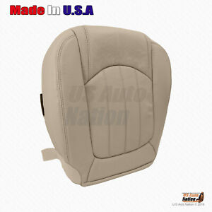 2008 to 2012 Buick Enclave - Front Driver Bottom Vinyl Perforated Seat Cover Tan