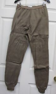 New USGI Polypro Cold Weather Drawers Pants ECWCS Thermal Army Brown Medium