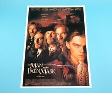 DOUBLE SIDED FOLDOUT POSTER THE MAN IN THE IRON MASK / SPICE GIRLS 1998 HITKRANT