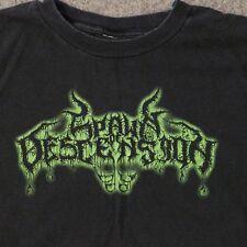 Spawn of Descension T Shirt Concert Band Tour Mens L Black