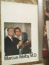 Marcus Welby /ABC Promotion Poster Robert Young & James Brolin