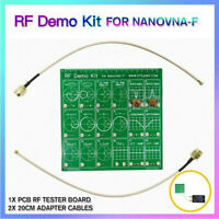 RF Demo Kit For Vector Network NanoVNA RF Analyzer Filter Test Attenuator Board