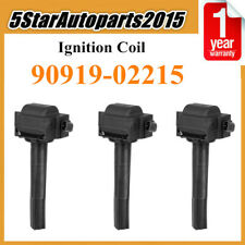 3 Ignition Coil 9091902215 for Toyota Avalon Camry Sienna Solara Lexus ES300 3.0