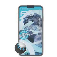 atFoliX 3x Lámina Protectora para Apple iPhone 11 Pro Max transparente&flexible