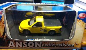 Anson Collectibles - Ford Lightning SVT F-150 - Yellow - #80801 - NIB