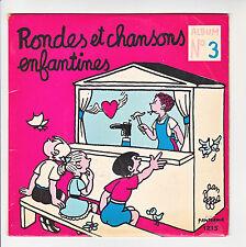 CHOEUR DES ENFANTS DE PARIS 45T EP RONDES ET CHANSONS ENFANTINES N°3 PANORAMA
