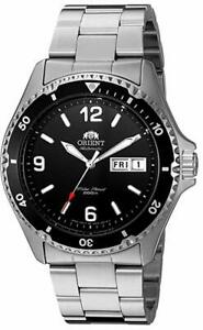 Orient Men's Mako II Automatic Stainless Steel Diving Watch - FAA02001B9 NEW