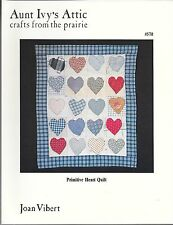 Primitive Heart Quilt (Aunt Ivy's Attic Crafts From the Prairie #570)