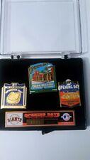 San Francisco Giants Opening Days Past & Present Commemorative Pin Set