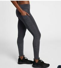 Nike Women's Racer Running  Power Tights Gym Bottoms Medium 930393 081 Violet