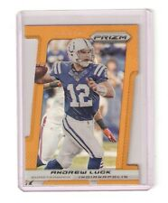 2013 Panini Prizm Die-Cut ANDREW LUCK gold card #33 & #4/50