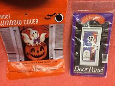 HALLOWEEN: GHOST WINDOW COVER & GHOST DOOR PANEL