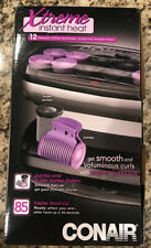 Conair Xtreme Instant Heat Jumbo And Super Jumbo Hot Rollers with Super Clips