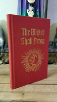 Hardcover 1st Ed - THE WICKED SHALL DECAY - Mercer - Occult Grimoire Witchcraft