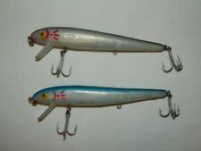 #1081 Lot Of 2 Cordell Red Fin Topwater Fishing Lures