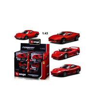 Coche de carreras de automodelismo y aeromodelismo Ferrari escala 1:43