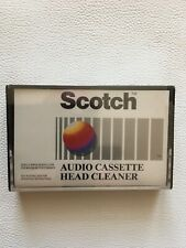More details for rare scotch audio cassette head cleaner. still factory sealed. free uk postage.