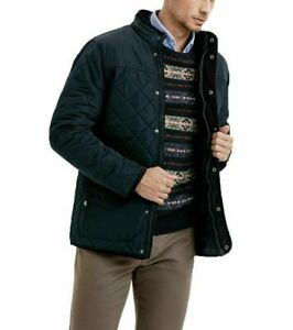 """38""""- 52"""" Diamond Quilted Jacket Fleece Lined Coat Country Outdoor Thick Winter"""
